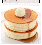 窯焼きスフレパンケーキの画像